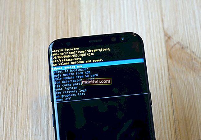 Cum să ștergeți partiția cache pe Samsung Galaxy S8