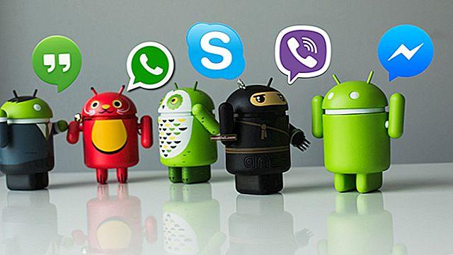 Топ най-добрите приложения за незабавни съобщения за Android
