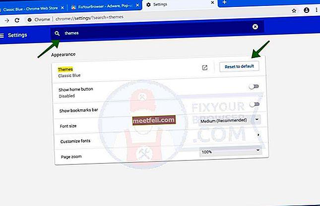 Hur man installerar och tar bort tema i Google Chrome