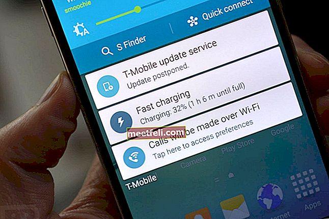 Як увімкнути швидку зарядку на Samsung Galaxy S6 Edge