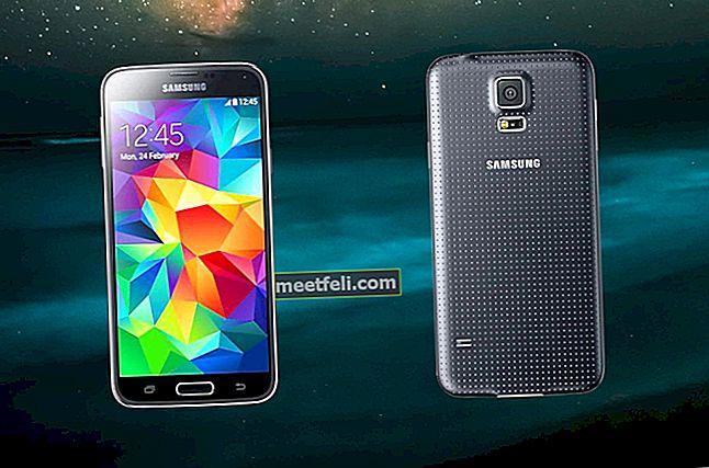 Hur man rotar Samsung Galaxy S5