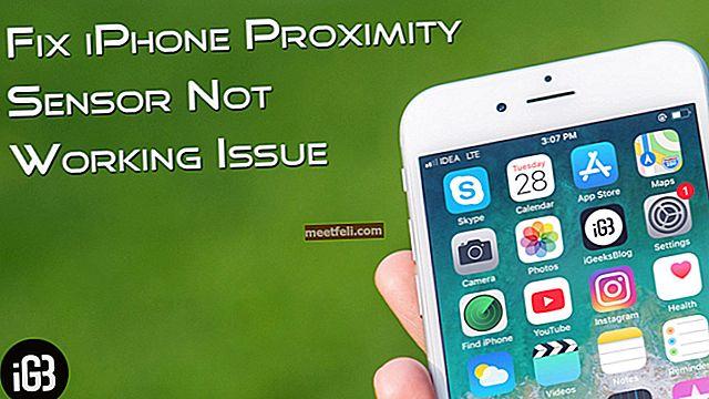 Как да поправя сензор за близост не работи на iPhone