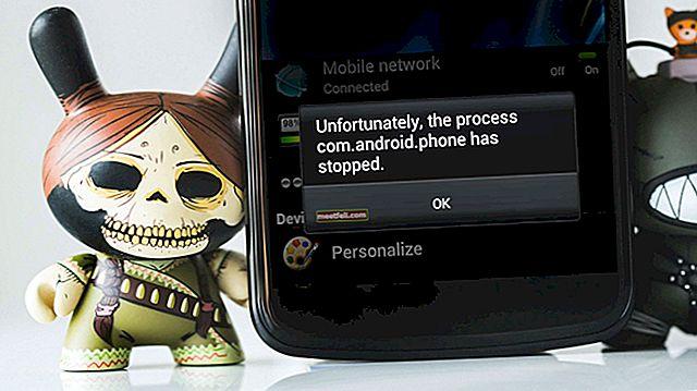 """Як виправити """"На жаль, процес com.android.phone зупинився"""""""