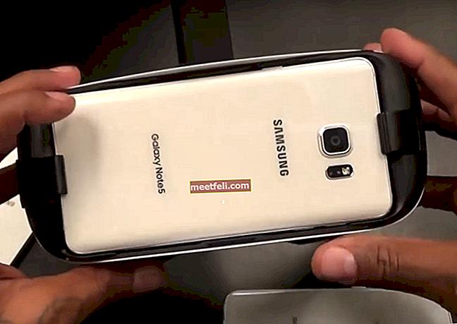 Hur du löser problem med överhettning av Galaxy Note 5