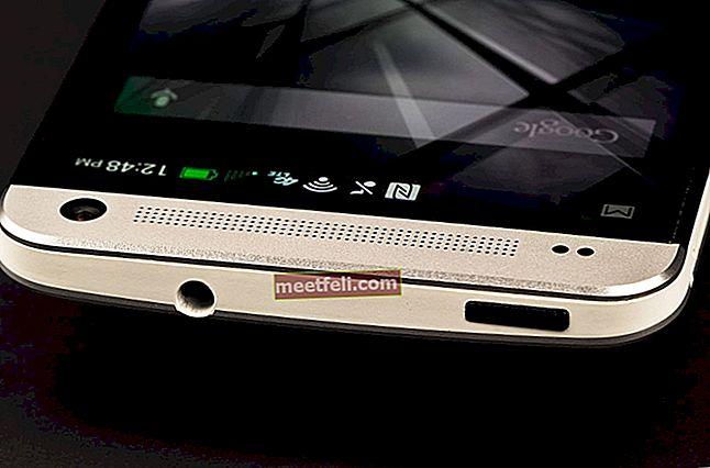 Hur man löser kameraproblem på HTC One M7
