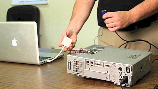 Hur man ansluter MacBook till en projektor