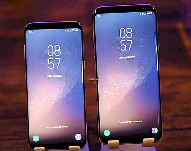 Så här ändrar du skärmupplösning på Galaxy S8