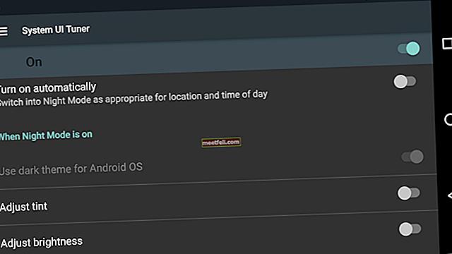 Så här aktiverar du nattläge i Android 7.0 Nougat