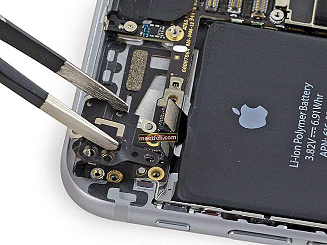 Så här fixar du iPhone 6 Wifi-problem eller nedtonad eller dim