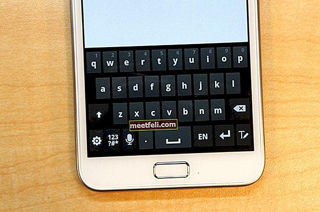Cum se schimbă tastatura implicită pe Samsung Galaxy Note 4