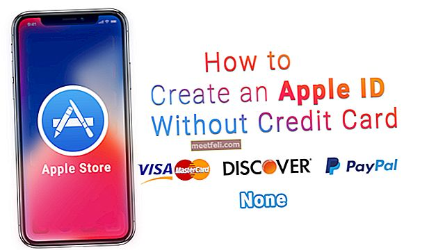 Ücretsiz Apple Kimliği Nasıl Oluşturulur (Kredi Kartı Olmadan)