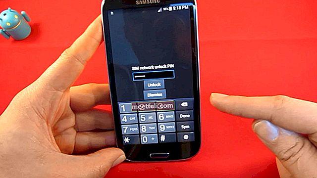 Hur man låser upp Samsung-telefoner med hjälp av upplåsningskoder