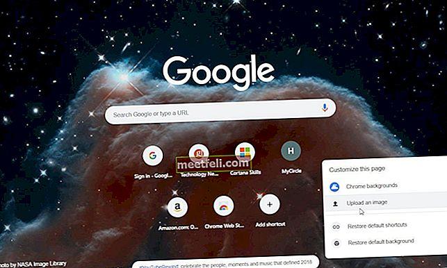 Як додати живі шпалери на сторінку нової вкладки Google Chrome