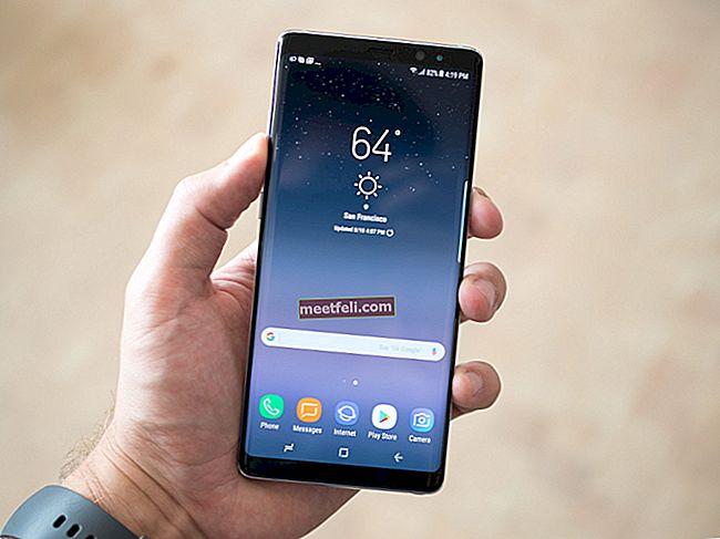 Як зробити знімки екрана на Galaxy Note 8