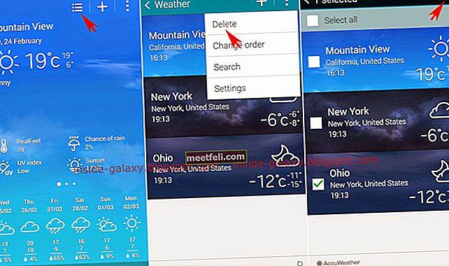 Så här lägger du till och tar bort widgets på Samsung Galaxy Note 4