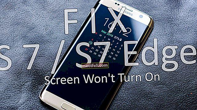 Екран Samsung Galaxy S7 не вмикається - як це виправити