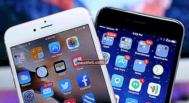 Как да се определи процентът на батерията, който не се актуализира на iPhone 6s и iPhone 6s Plus
