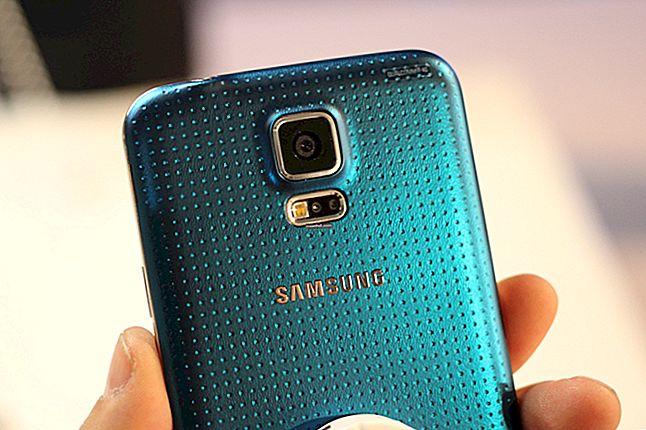 Как да архивирате контакти на Samsung Galaxy S5