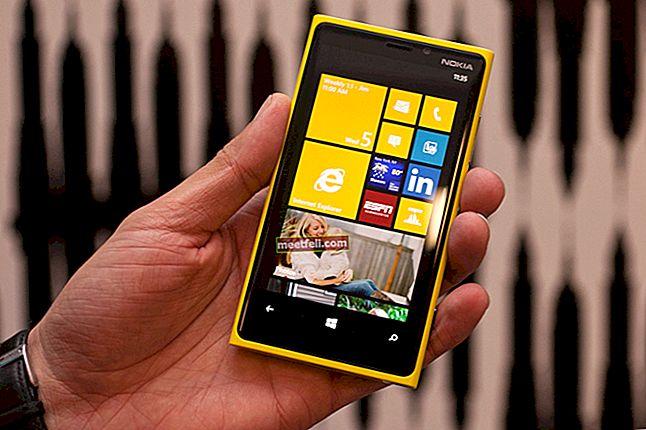 Nokia Lumia 920'de Yumuşak Sıfırlama ve Sert Sıfırlama Nasıl Yapılır