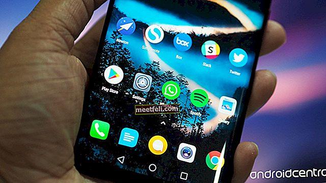 Как да промените стартера на началния екран на Huawei Mate 8