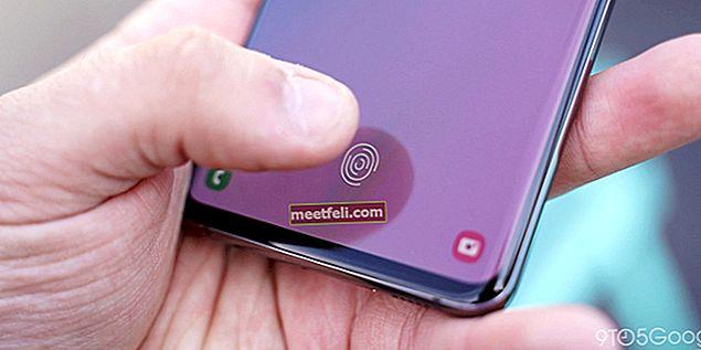 Så här fixar du problem med Galaxy Note 8-fingeravtrycksskanner