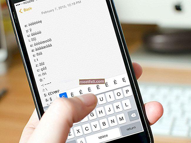 Så här skriver du fler tecken på iPhone / iPad