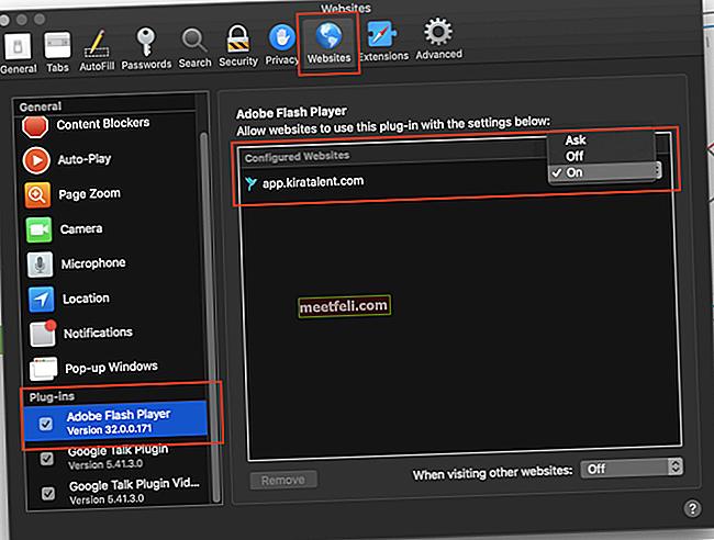 Ось як увімкнути Adobe Flash Player у браузері Safari