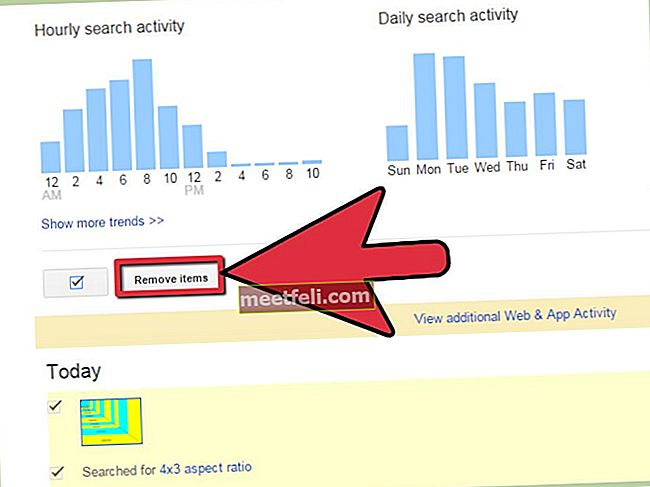 Як вимкнути останню історію пошуку Google