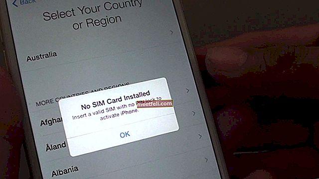 Så här aktiverar du iPhone utan SIM-kort